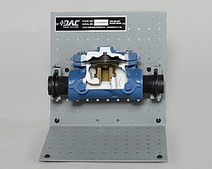 DAC Worldwide Hydraulically Operated, Diaphragm Valve Cutaway | 273-415 | Front
