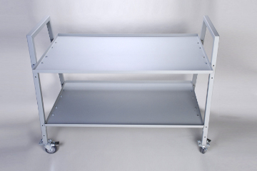 DAC Worldwide Display and Transport Cart | 904 | Above View