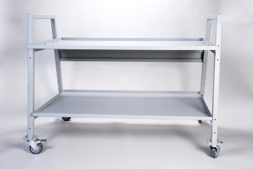 DAC Worldwide Display and Transport Cart | 904 | Front View