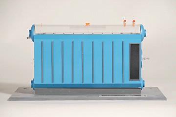 water tube boiler model training