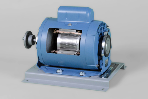 Single Phase Capacitor-Start AC Motor Cutaway | Industrial Motor Training