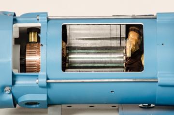 DAC Worldwide Shunt Wound DC Motor Cutaway | 273-945 | Closeup