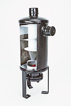 ACR Oil Separator Cutaway, Helical-Type