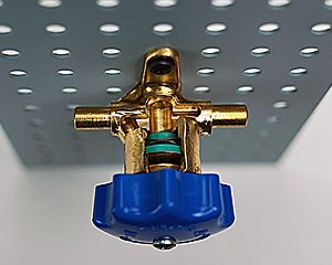 acr packless diaphragm line valve cutaway