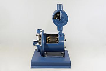 Canned Sealless, Centrifugal Pump Cutaway
