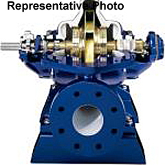 Dissectible Double-Suction, Split-Case Centrifugal Pump