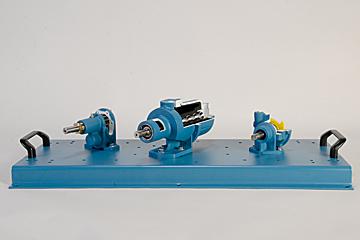 downsized pump cutaway set