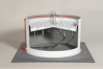 Floating Head Bulk Storage Tank Training Model