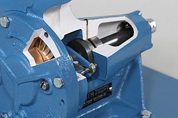 Horizontal Turbine Pump Cutaway