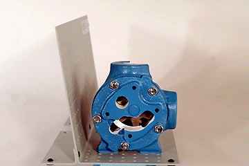 internal gear pump cutaway