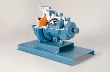 magnetic drive centrifugal pump cutaway