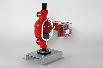 pneumatic level switch training aid