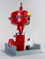 Pneumatic Surface Safety Valve Cutaway