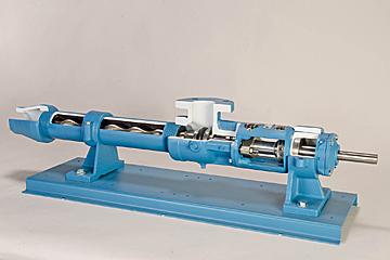 Progressive Cavity Pump Cutaway – Moyno/Roper