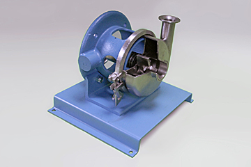 sanitary centrifugal pump cutaway stainless