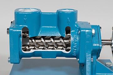 Screw Pump Cutaway