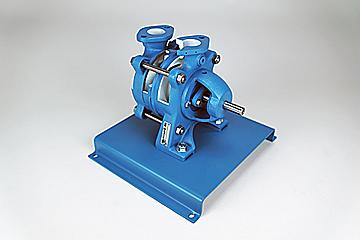 single stage side channel pump cutaway
