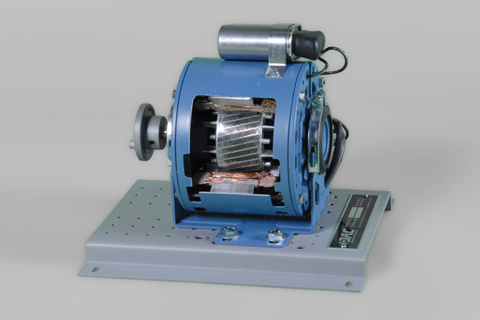 DAC Worldwide Single-Phase PSC AC Motor Cutaway | 273-950 | Angle 2