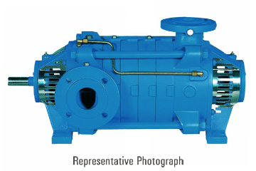 DAC Worldwide Downsized Horizontal Multi-Stage Centrifugal Pump Dissectible | 275-160D | 1