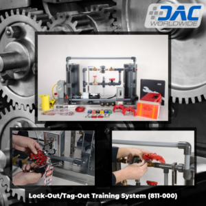 DAC Worldwide Lock-out/Tag-out Training System Infographic | 811-000