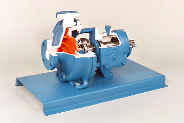 DAC Worldwide Goulds ANSI Centrifugal Pump Cutaway | 278-105C