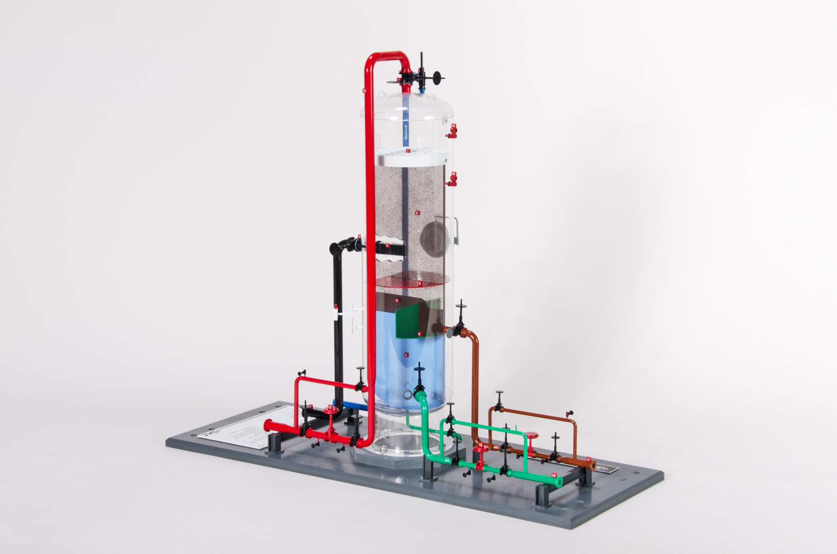 DAC Worldwide | 295-115 | Vertical Cross-Flow Separator Model - Right View