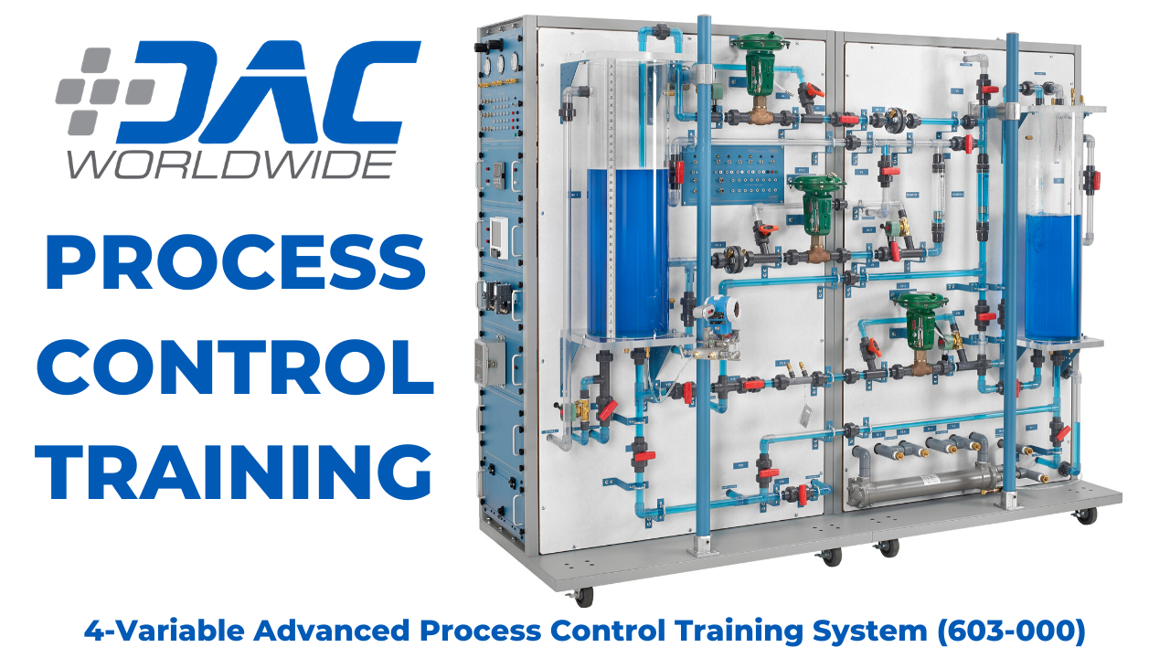 Video: 4-Variable Advanced Process Control Training System - DAC Worldwide