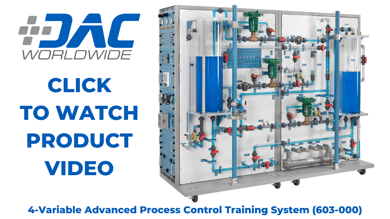 603-000 DAC Worldwide 4-Variable Advanced Process Control Training System Video