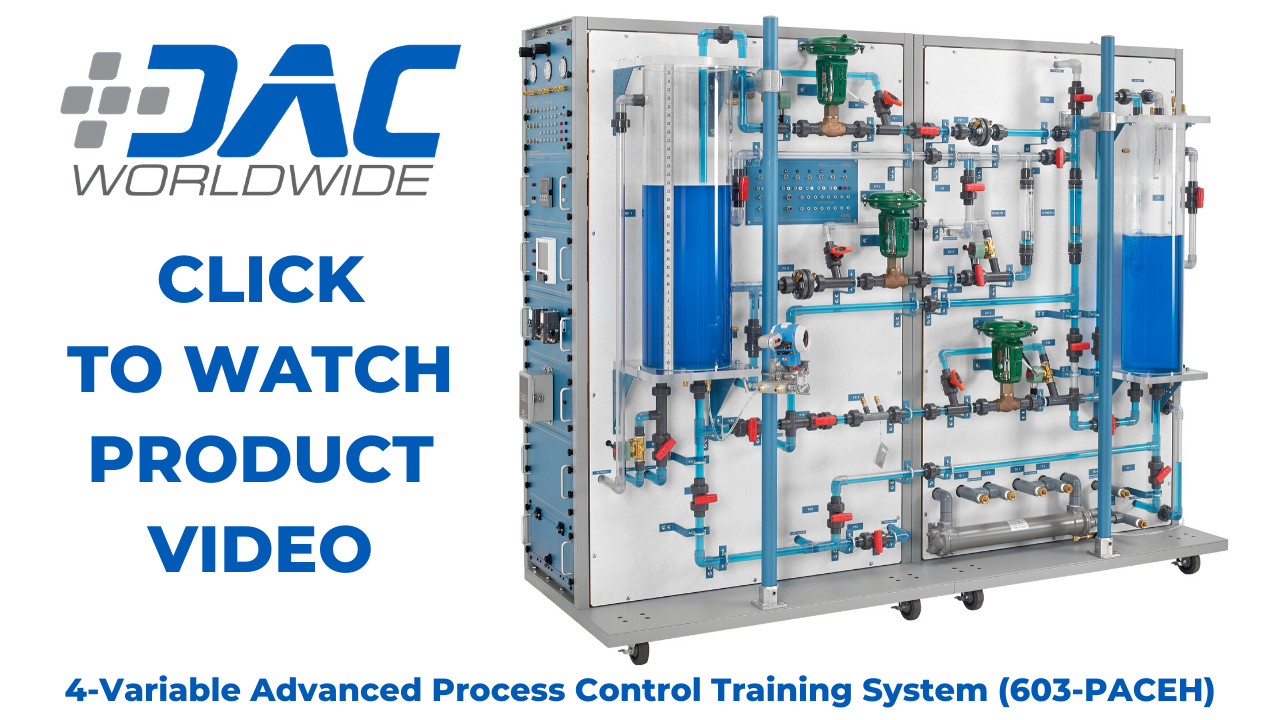 603-PACEH DAC Worldwide 4-Variable Advanced Process Control Training System Plus Video