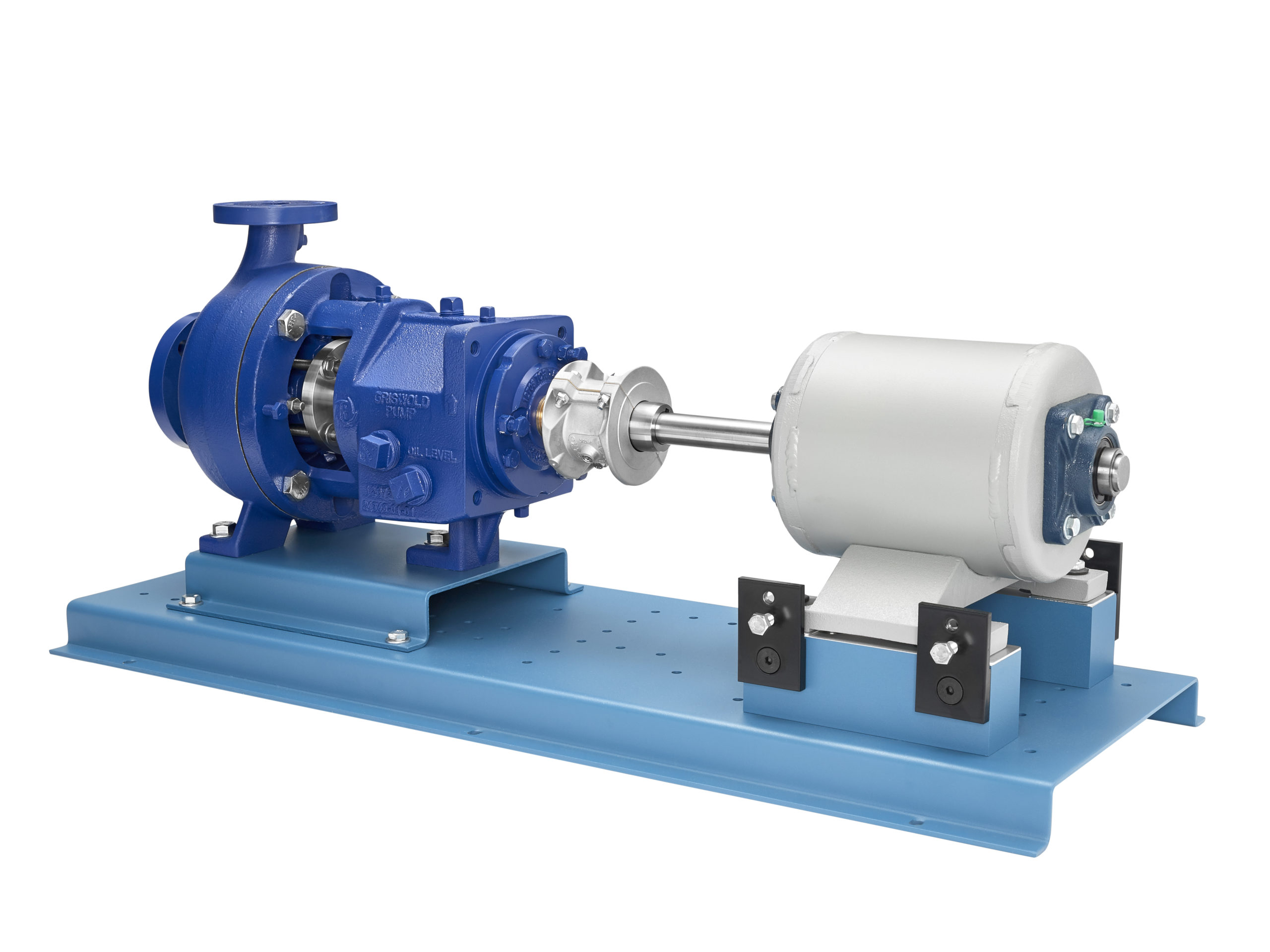pump maintenance with alignment trainer