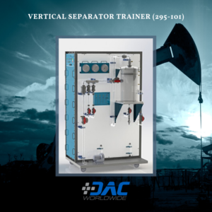 DAC Worldwide - Vertical Separator Trainer - 295-101 - Infographic