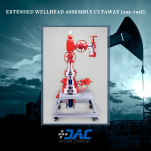 DAC Worldwide - Extended Wellhead Assembly Cutaway - 295-795E - Infographic