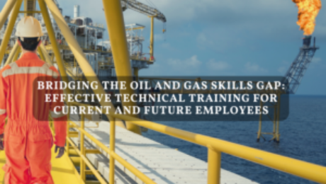 Bridging the Oil and Gas Skills Gap - Article Title Infographic - DAC Worldwide