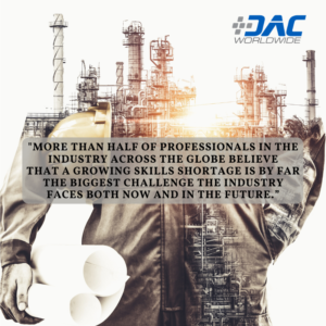 DAC Worldwide - Skills Shortage Infographic