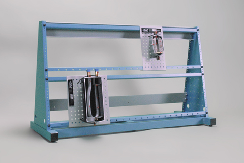 extended support frame assembly hvac
