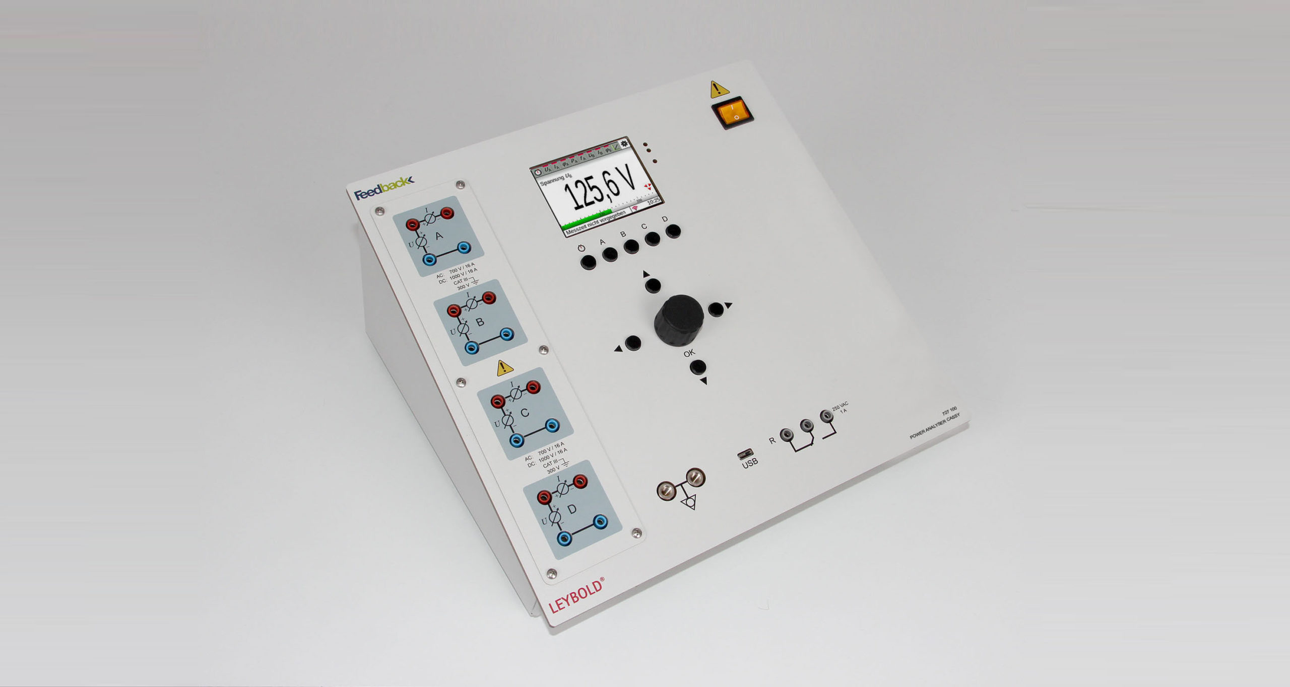 LD DIDACTIC | 727-100 | Power Analyzer CASSY | Electrical Engineering