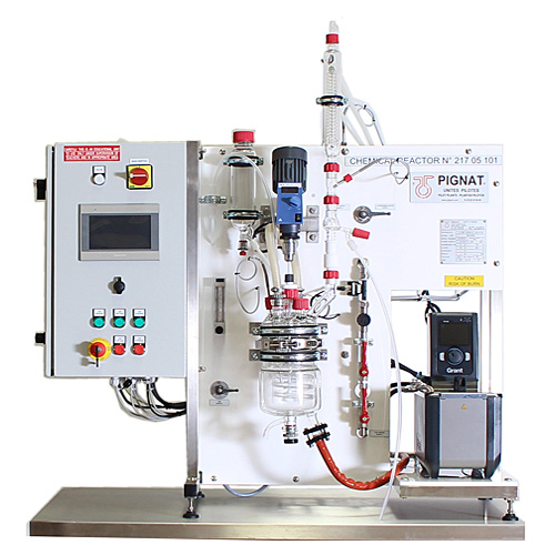 Pignat Chemical Engineering - Chemical Reactor Computerized - REA-3000