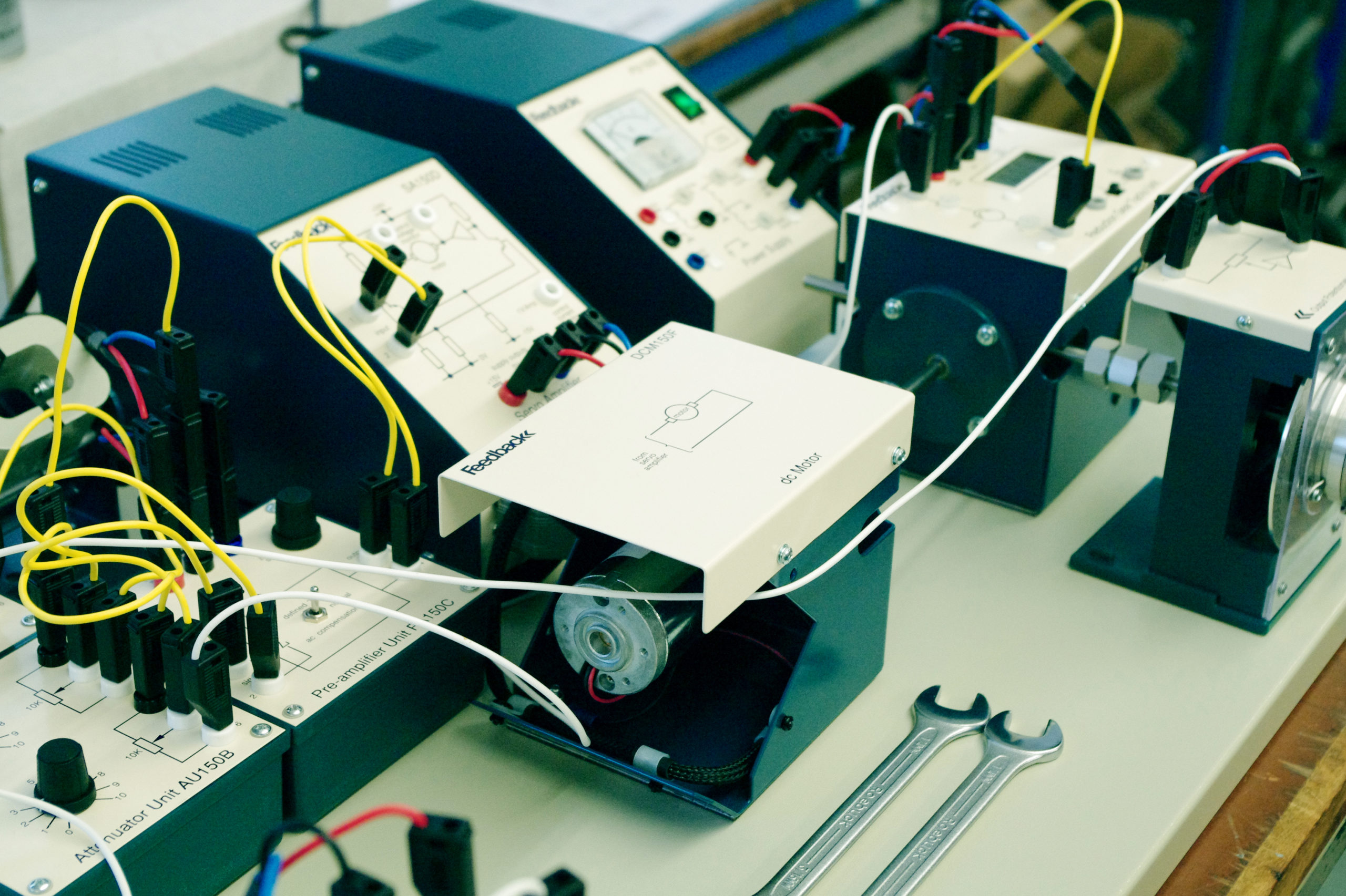 LD DIDACTIC - Modular Servo Systems | Electrical EngineeringLD DIDACTIC - Modular Servo Systems | Electrical Engineering