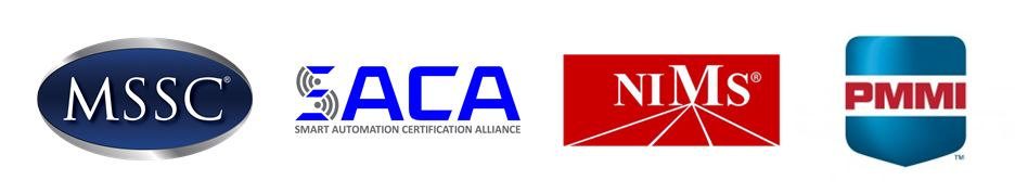 Organizations specializing in certifying the workforce with advanced manufacturing skills