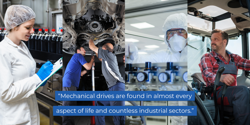 mechanical drives training industrial sectors
