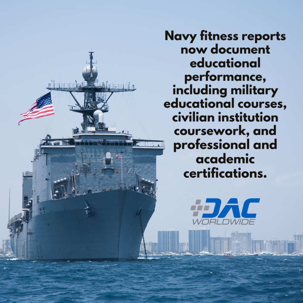 DAC Worldwide - New Marine Corps Doctrine Promotes Education & Training - Navy Graphic