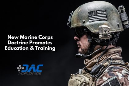 DAC Worldwide - New Marine Corps Doctrine Promotes Education & Training - Title Graphic